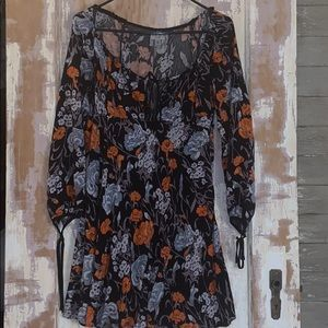 Urban Outfitters Carnation print dress